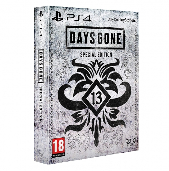 Days Gone Special Steelbook Edition [uncut] (deutsch) (AT PEGI) (PS4) inkl. 4 DLC
