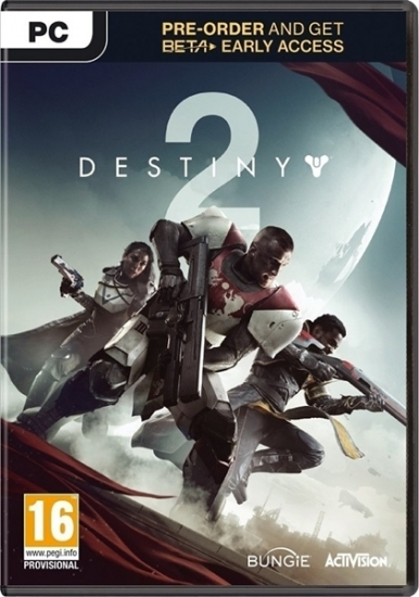 Destiny 2 (deutsch) (AT PEGI) (PC DVD) inkl. BETA Zugang