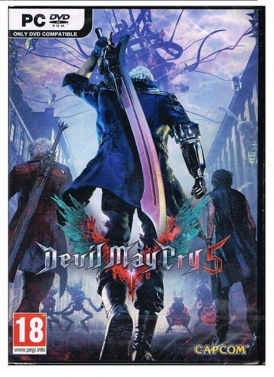 Devil May Cry 5 [uncut] (deutsch) (AT PEGI) (PC DVD)