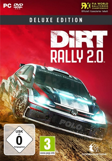DiRT Rally 2.0 Deluxe Edition (deutsch) (AT PEGI) (PC) [Download] inkl. Early Access / 9 DLCs