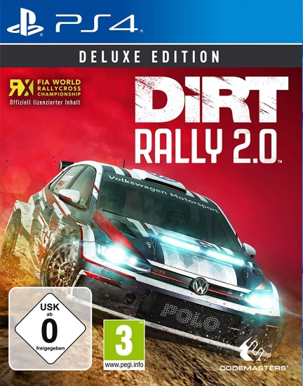 DiRT Rally 2.0 Deluxe Edition (deutsch) (AT PEGI) (PS4) inkl. Early Access / 9 DLCs