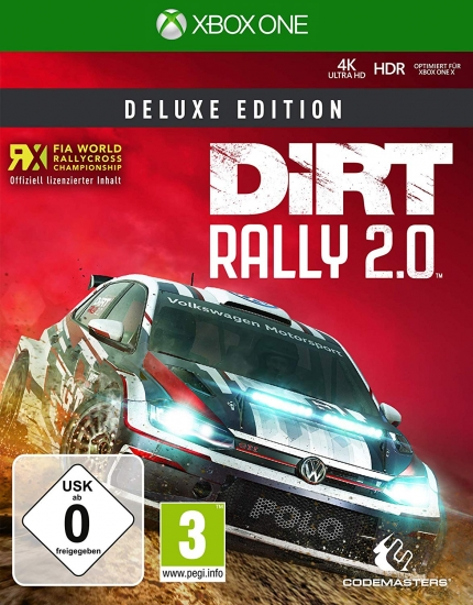 DiRT Rally 2.0 Deluxe Edition (deutsch) (AT PEGI) (XBOX ONE) inkl. Early Access / 9 DLCs