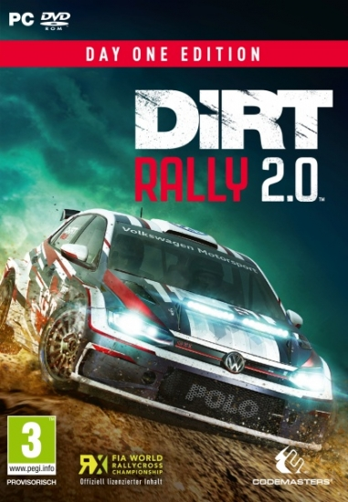 DiRT Rally 2.0 D1 Edition (deutsch) (AT PEGI) (PC DVD) inkl. 4 DLCs