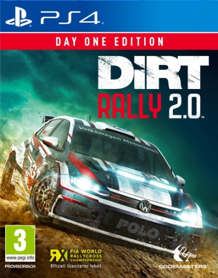 DiRT Rally 2.0 D1 Edition (deutsch) (AT PEGI) (PS4) inkl. 4 DLCs