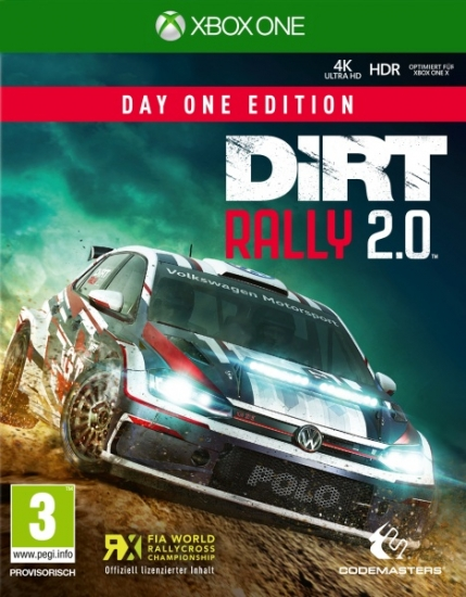 DiRT Rally 2.0 D1 Edition (deutsch) (AT PEGI) (XBOX ONE) inkl. 4 DLCs