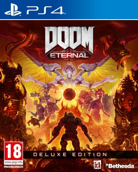 DOOM Eternal Deluxe Edition [uncut] (deutsch) (AT PEGI) (PS4) inkl. Year One Season-Pass