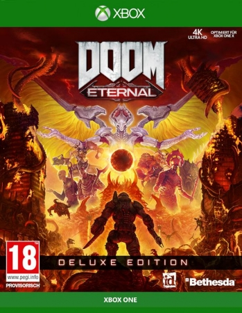DOOM Eternal Deluxe Edition [uncut] (deutsch) (AT PEGI) (XBOX ONE) inkl. Year One Season-Pass / RIP and Tear Pack / Doom 64