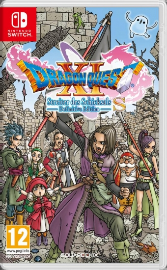 DRAGON QUEST XI S Streiter des Schicksals Definitive Edition (deutsch) (AT PEGI) (Nintendo Switch)
