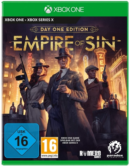 Empire of Sin Day One Edition (deutsch) (AT PEGI) (XBOX ONE / XBOX SERIES X)