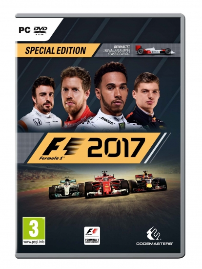 F1 2017 Special Edition (deutsch) (AT PEGI) (PC DVD) inkl. McLaren MP4/4