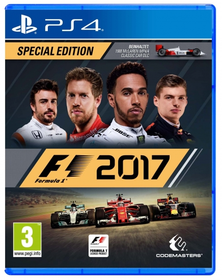 F1 2017 Special Edition (deutsch) (AT PEGI) (PS4) inkl. McLaren MP4/4