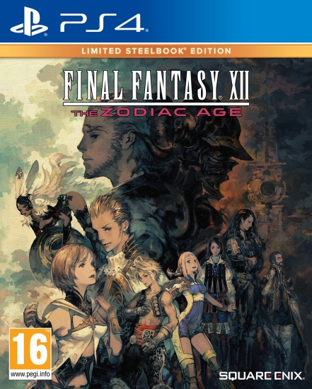 Final Fantasy XII The Zodiac Age - Limited Steelbook Edition (deutsch) (AT PEGI) (PS4)