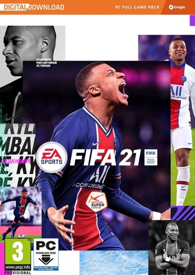 FIFA 21 (deutsch) (AT PEGI) (PC) [Code in a Box, ohne CD] inkl. 3 Gold-Packs