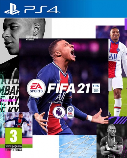 FIFA 21 (deutsch) (AT PEGI) (PS4) inkl. 3 Gold-Packs