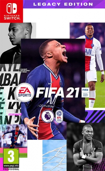 FIFA 21 Legacy Edition (deutsch) (AT PEGI) (Nintendo Switch)