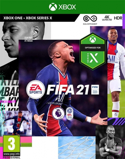 FIFA 21 (deutsch) (AT PEGI) (XBOX ONE / XBOX Series X) inkl. 3 Gold-Packs