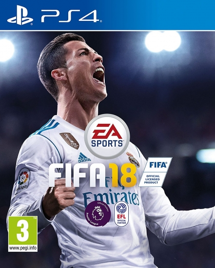 FIFA 18 (deutsch) (AT PEGI) (PS4) inkl. 5 Jumbo Premium Gold-Sets / Leihspieler / Trikots