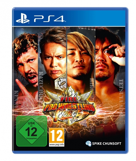 Fire Pro Wrestling World (deutsch) (AT PEGI) (PS4)