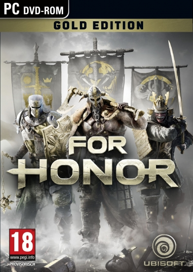 For Honor - Gold Edition [uncut] (deutsch) (AT PEGI) (PC DVD) inkl. Season Pass / Deluxe-Paket / 3 Helden-Outfits