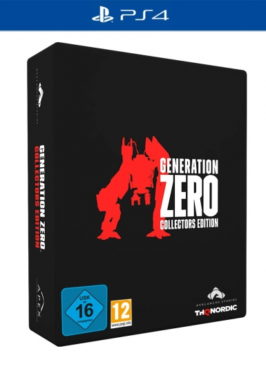 Generation Zero Collector's Edition (deutsch) (AT PEGI) (PS4) inkl. Radical Vanity Pack