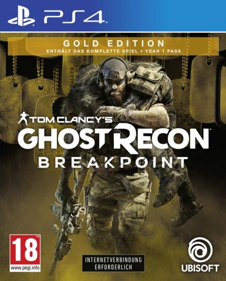 Tom Clancy's Ghost Recon Breakpoint Gold Edition (deutsch) (AT PEGI) (PS4) inkl. Year 1 Season Pass / 12 DLC