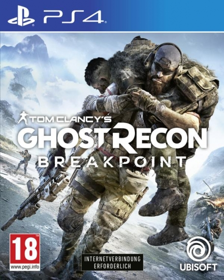 Tom Clancy's Ghost Recon Breakpoint (deutsch) (AT PEGI) (PS4) inkl. Sentinel Corp. Paket