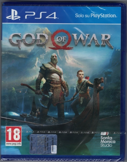 God of War [uncut] (deutsch) (IT PEGI) (PS4)