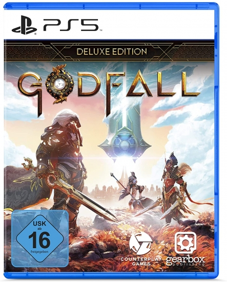 Godfall Deluxe Edition [uncut] (deutsch) (DE USK) (PS5) inkl. Expansion 1
