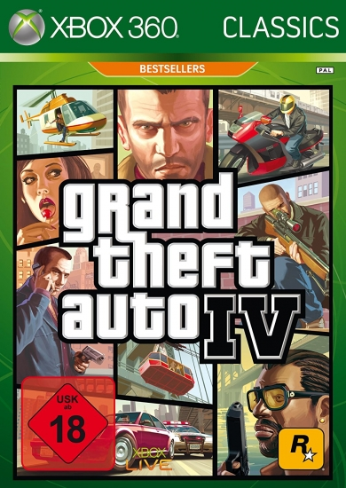 Grand Theft Auto IV [Classics] [uncut] (deutsch) (DE) (XBOX360 / XBOX ONE)