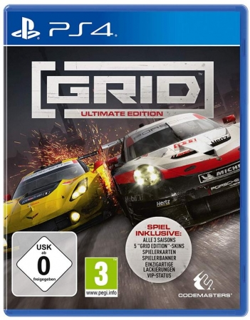 GRID 2019 Ultimate Edition (deutsch) (AT PEGI) (PS4) inkl. 3 Tage Early Access / Season Pass / Aston Martin Vantage GT4 Skin & XP Boost