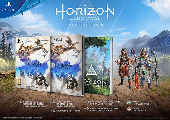 Horizon: Zero Dawn - Limited Steelbook Edition [gebraucht] [uncut] (deutsch) (EU PEGI) (PS4)