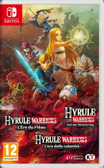Hyrule Warriors Zeit der Verheerung (deutsch) (AT PEGI) (Nintendo Switch)