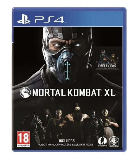 Mortal Kombat XL [uncut] (deutsch) (AT PEGI) (PS4)