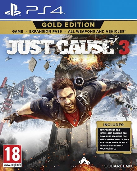 Just Cause 3 - Gold Edition (deutsch) (EU PEGI) (PS4)