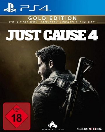 Just Cause 4 Gold Steelbook Edition [uncut] (deutsch) (DE USK) (PS4) inkl. Expansion Pass / 5 DLCs