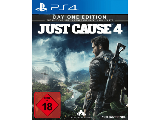 Just Cause 4 Day One Edition [uncut] (deutsch) (DE USK) (PS4) inkl. Renegade Pack + Mini-Karte