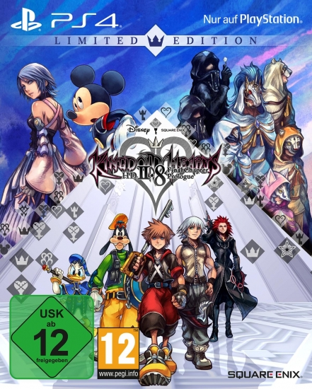 Kingdom Hearts HD 2.8 Final Chapter Prologue - Limited Edition (deutsch) (AT PEGI) (PS4)