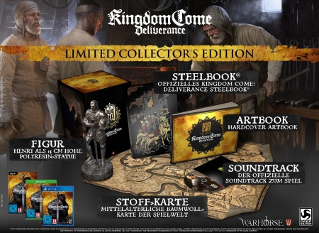 Kingdom Come Deliverance Collector's Edition [uncut] (deutsch) (AT PEGI) (PS4)