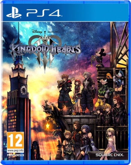 Kingdom Hearts 3 III (deutsch) (AT PEGI) (PS4)