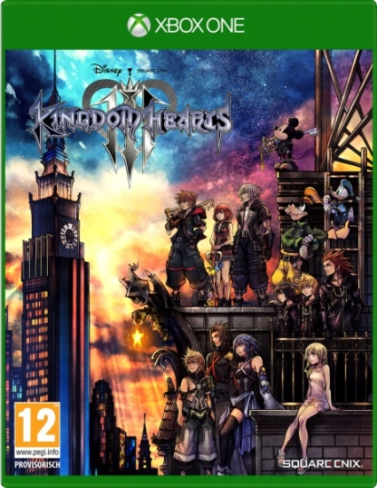 Kingdom Hearts 3 III (deutsch) (AT PEGI) (XBOX ONE)