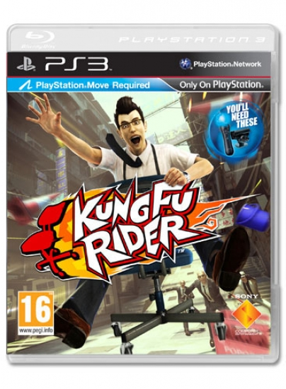 Kung Fu Rider (Move) (englisch) (PS3)