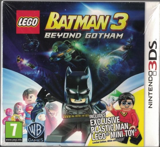 Lego Batman 3 - Jenseits von Gotham - Special Edition (deutsch) (AT PEGI) (3DS) inkl. Plastic Man LEGO Figur
