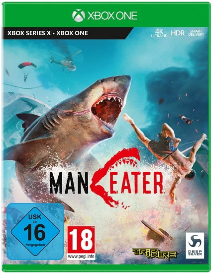 Maneater [uncut] (deutsch) (AT PEGI) (XBOX ONE / XBOX Series X)