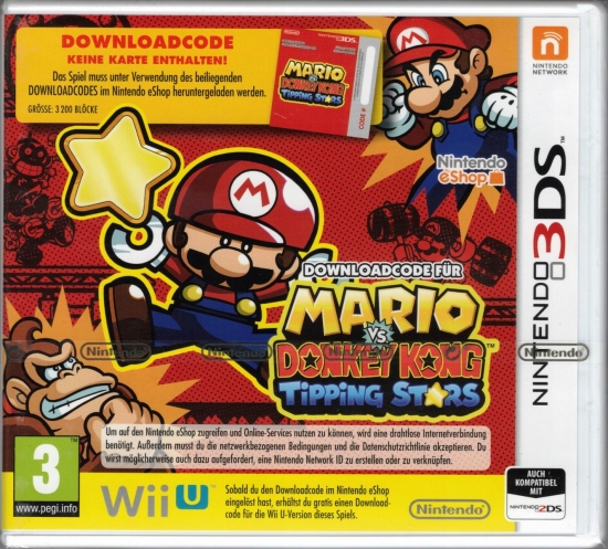 Mario vs. Donkey Kong Tipping Stars (deutsch) (AT PEGI) (3DS) [Download-Code, keine Cartridge]