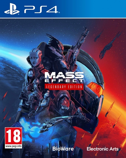 Mass Effect Legendary Edition [uncut] (deutsch) (AT PEGI) (PS4 / kompatibel mit PS5)