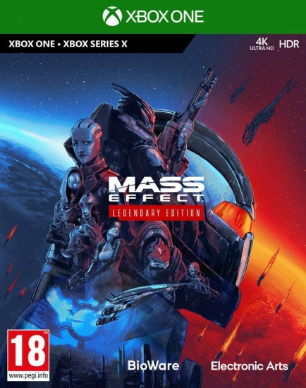 Mass Effect Legendary Edition [uncut] (deutsch) (AT PEGI) (XBOX ONE / kompatibel mit XBOX Series X)
