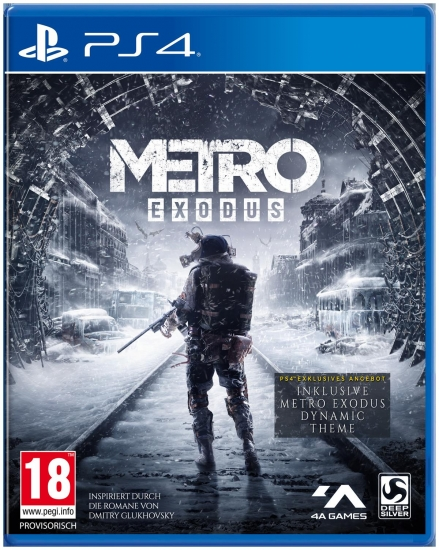 Metro Exodus D1 Edition [uncut] (deutsch) (AT PEGI) (PS4) inkl. dynamisches Metro-Theme
