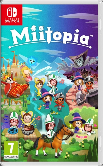 Miitopia (deutsch) (AT PEGI) (Nintendo Switch)