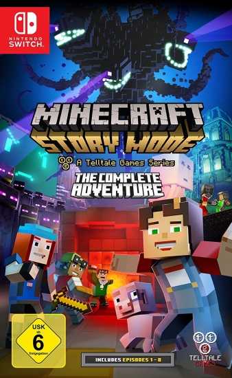 Minecraft Story Mode (deutsch) (DE) (Nintendo Switch)