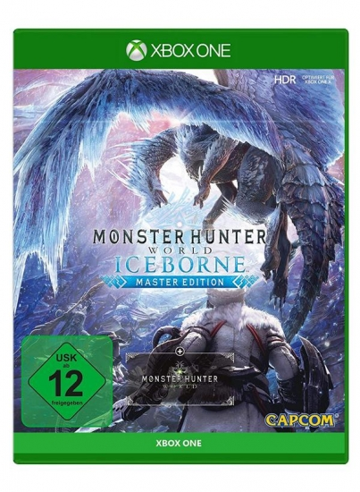 Monster Hunter World Iceborne Master Edition (deutsch) (DE USK) (XBOX ONE) inkl. Monster Hunter World / Yukumo DLC